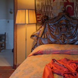 Casa Del Monte Bedroom | Hearst Castle