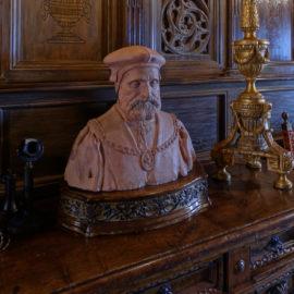 Library Lobby   Hearst Castle