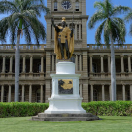 King Kamehameha Statue | Oahu Hawaii