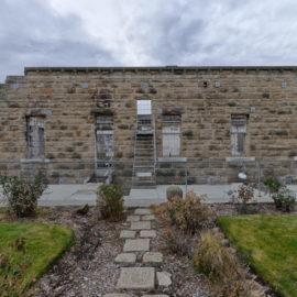 Old Idaho Penitentiary | Rose Garden