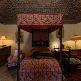 Gothic Bedroom | Hearst Castle